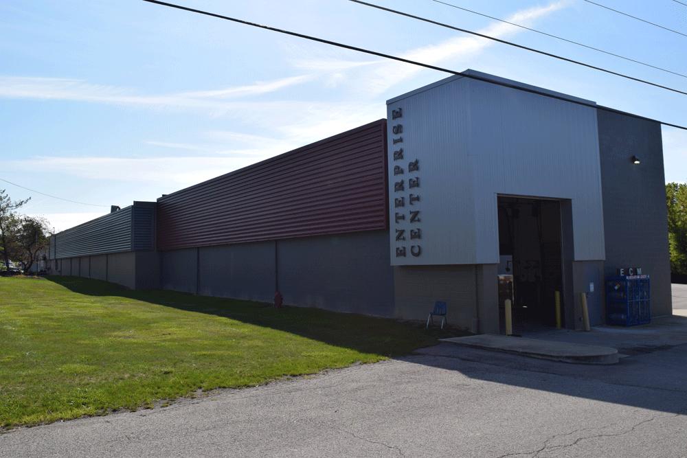 Enterprise Center Front View