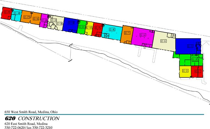 Complex siteplan