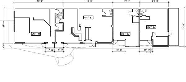 Floor plan entire complex
