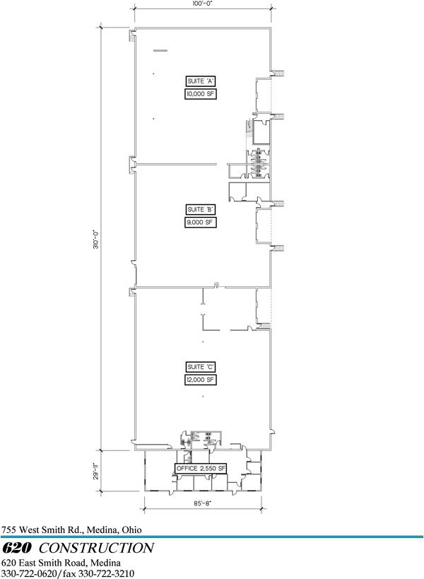 All units floorplans